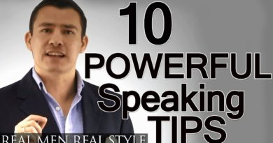 10 Speaking Tips   Advanced Presentation Advice   How To Give A Powerful Speech   Public Speaking
