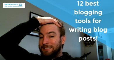 12 best blogging tools for writing blog posts