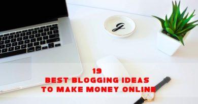 19 Best Blogging Ideas To Make Money Online   Sameer Gudhate
