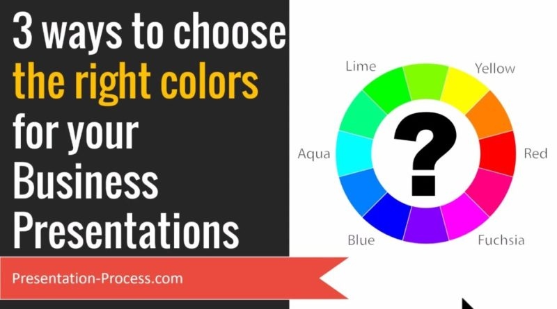 3 Ways to Choose the Right Colors for Your Business Presentations (PowerPoint Tips)