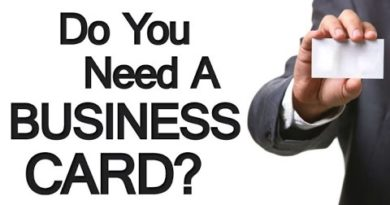 4 Reasons You Need A Business Card | The Importance of Business Cards For Professional Men Video