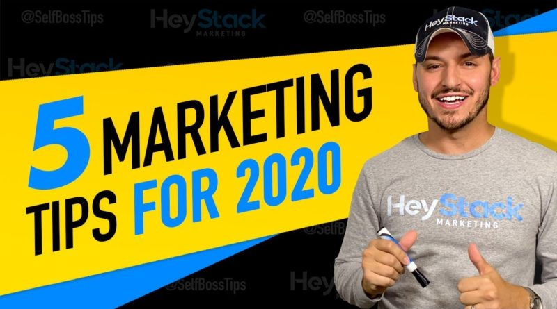 5 Small Business Marketing Tips To Dominate In 2020