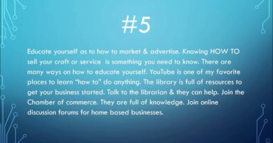 7 Tips & Ideas BEFORE Starting A Home Based Business