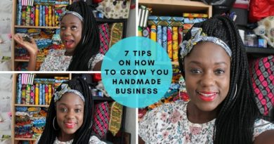 7 Top Tips For Running A Handmade Business From Home