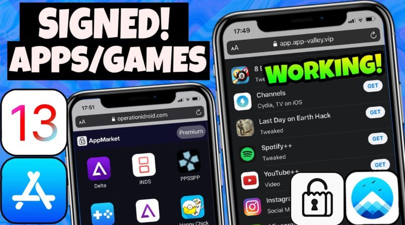 AppValley & AppMarket FIXED! Install Tweaked Apps Paid Games iOS 13/12 NO Jailbreak