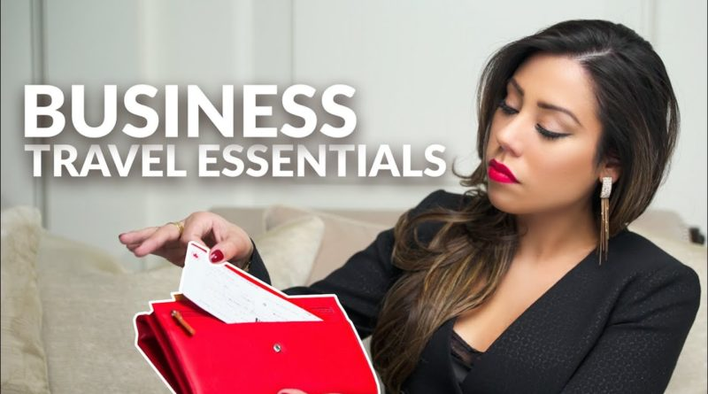 BUSINESS TRAVEL - Essentials You Must Bring When Travelling For Business
