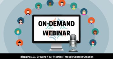 Blogging 101: Growing Your Practice Through Content Creation