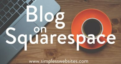 Blogging on Squarespace 2017