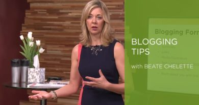 Business Blogging Tips from Beate Chelette