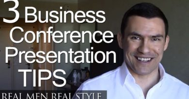 Business Conference Style & Presentation - 3 Tips - Dress Sharp - Business Cards - Offer Value