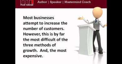 Business Growth Tips 3 - Ways To Grow a Business