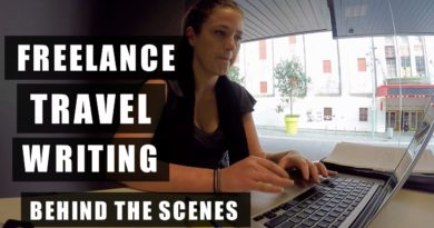 FREELANCE TRAVEL WRITING | BEHIND THE SCENES FOOTAGE |