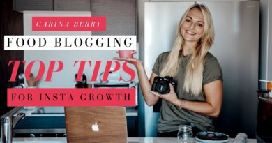 Food Blogging Photography Tips For Instagram Growth I 2018 (Fast)
