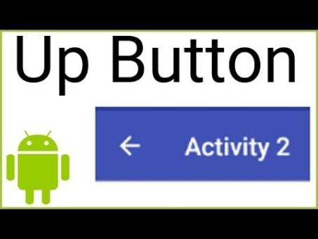 How to Add an Up Button to the AppBar - Android Studio Tutorial