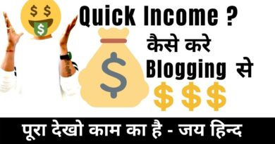 How to Earn Money Quick and Fast from Blogging ? - The Nitesh Arya