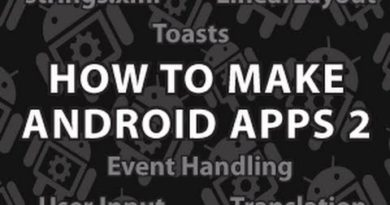 How to Make Android Apps 2