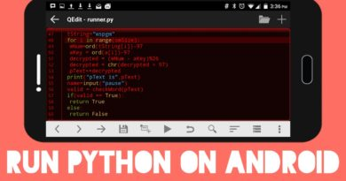 How to Run Python on Android