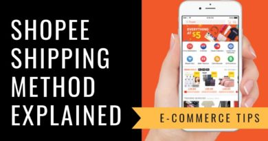 How to Sell & Make Money on Shopee- Shipping Method Explained