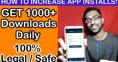 How to increase App Downloads on Google Play Store [2019] Android App Installs Growth Get more