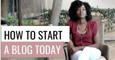 How to start a blog/ Blogging in Kenya