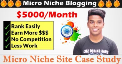 Micro Niche Blog Case Study   Earn $5000/Month By Micro Blogging
