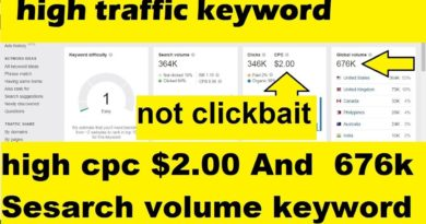 New blogging website low competition keyword in 2020 | high traffic keyword research king for blog