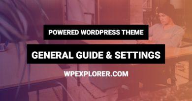 Powered Free Blogging WordPress Theme