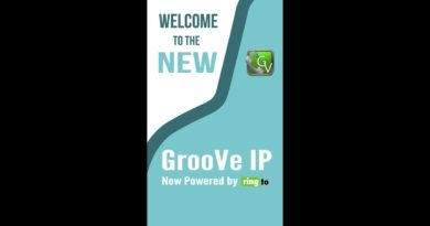 Use The NEW GrooveIP voip app for calls