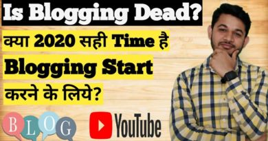 What is Future of Blogging -Is Blogging Dead,Should I Start Blogging?