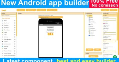 casagbic new android app builder no commission 100% free like kodular appybuilder and thunkable