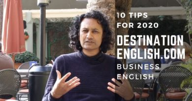 10 TIPS FOR BUSINESS ENGLISH IN 2020