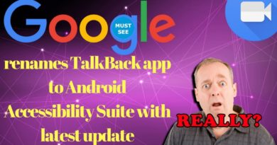 Google renames TalkBack app to Android Accessibility Suite with latest update