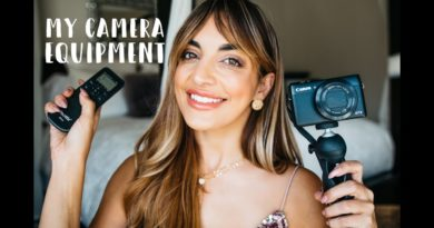 ALL my CAMERA GEAR/EQUIPMENT for Blogging, Videos, Vlogging & MORE!| Love, Olia