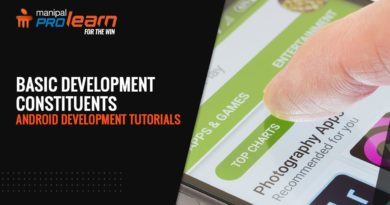 Android Development Tutorials - Basic Development Constituents | Android Studio Tutorial