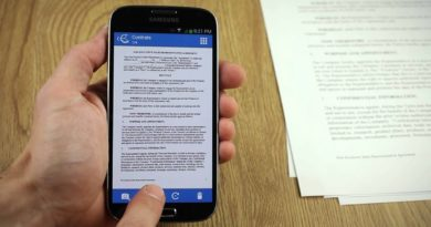 Best Tiny Scanner App for Android & iPhone (Scan, Crop, Contrast, PDF, Save, Mail)