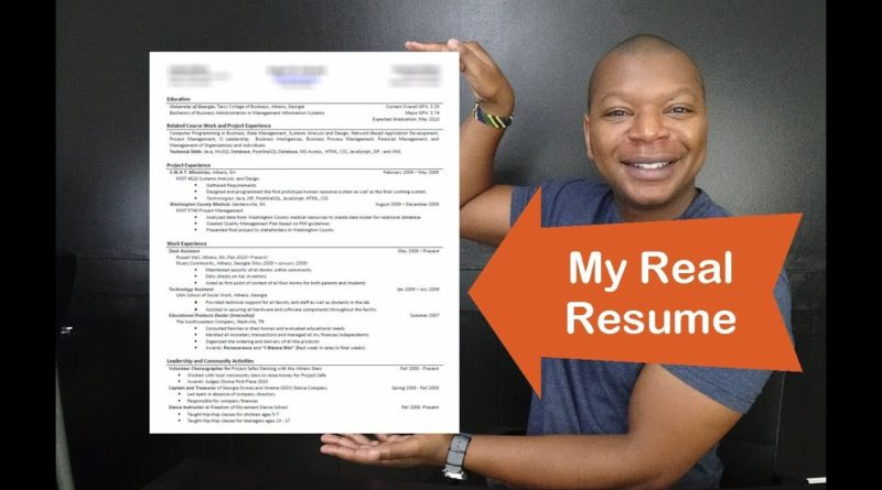 Business Analyst Resume - How to Get Interviews & Your First Job