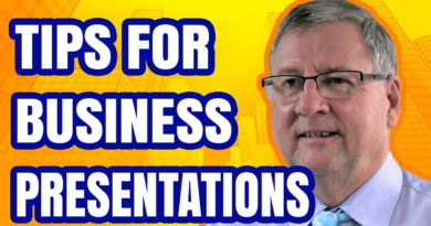 Business Presentation Tips for any event
