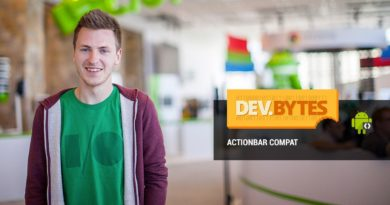 DevBytes: Intro to ActionBarCompat Support Library