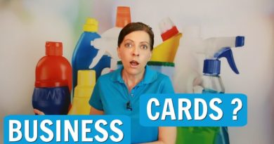 Do I Need a Business Card for My Cleaning Business?