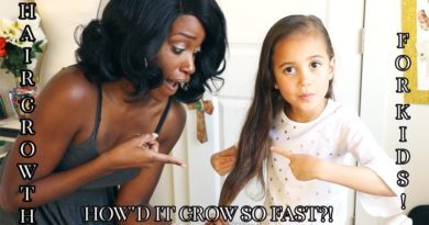 HAIR GROWTH FOR KIDS TIPS & TRICKS!   Mixed Kids Hair Care
