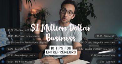 How I Built a Million Dollar Business in Medical School - 10 Tips for Entrepreneurs
