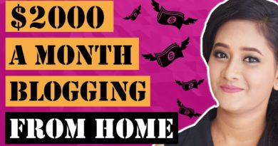 How To Make Money Blogging In 2020 | Work From Home