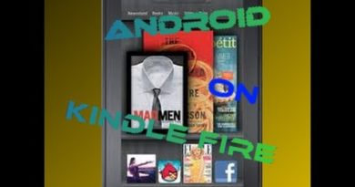 How to get android apps on your kindle fire EASY