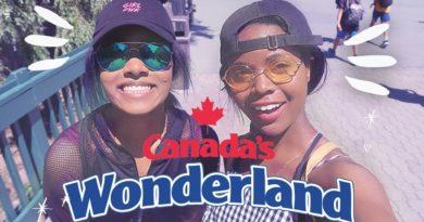 I'm Petrified of Rollercoasters 😱 22nd Birthday Vlog at Canada's Wonderland Amusement Park 🎢 8