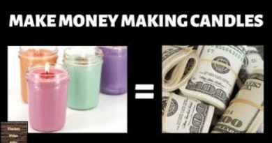 Make Money Making Candles - At Home Candle Making Business Tips
