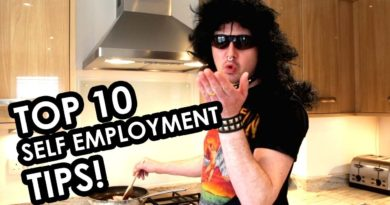 My TOP 10 self employment and small business tips