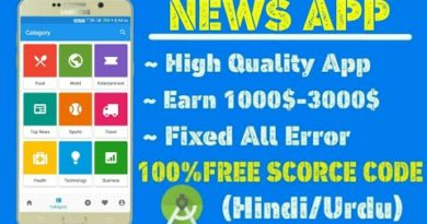 News App free source code, Android Studio free source code