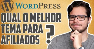 O MELHOR Tema WordPress Para Site e Blog de Afiliado (Focado em SEO) - Template de Marketing Digital