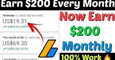 Part 2 Earn $200 Every Month From Blogging In 2020 | Earn Money From Blogging | Make Money Blogging