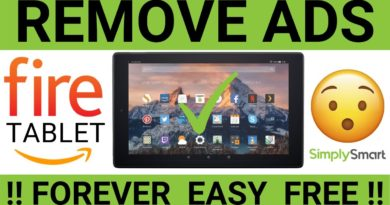 Remove Amazon Fire Tablet Ads Forever (THIS WORKS) | Free and Easy!